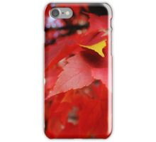 The Yellow Leaf iPhone Case/Skin