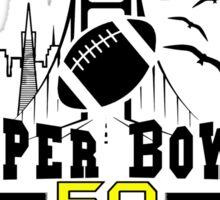 Super Bowl 50 design Sticker