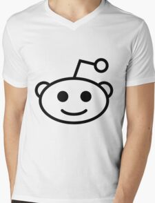 Reddit Mens V-Neck T-Shirt
