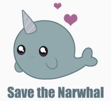Save the Narwhal Kids Clothes