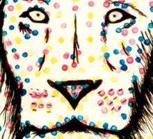 Dot spot lion Sticker