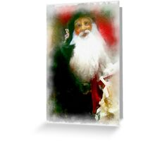 Making a List and Checking it Twice Greeting Card