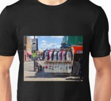 Living in a Moustache Controlled Zone Unisex T-Shirt