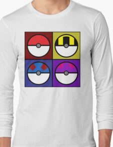 Pokeball minimalist Long Sleeve T-Shirt