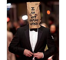 I AM NOT FAMOUS ANYMORE Photographic Print