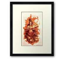Dark Souls - Quelaag, The Chaos Witch Framed Print