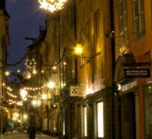 Old Town, Stockholm Sticker