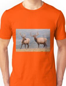 Elk in Rocky Mountain National Park Unisex T-Shirt