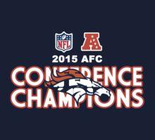 Denver Broncos 2015 AFC Conference Champions by petdot