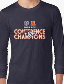 Denver Broncos 2015 AFC Conference Champions Long Sleeve T-Shirt