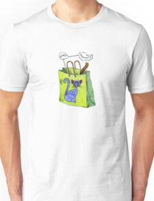 Mookie Cat's in the Bag Unisex T-Shirt