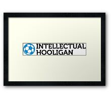 Intellectuals Framed Print
