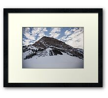 Fairview Mountain, Lake Louise, Alberta  Framed Print