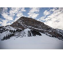 Fairview Mountain, Lake Louise, Alberta  Photographic Print