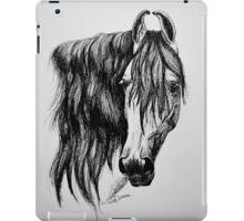 """Beauty in Ink"" - Kathiawari mare iPad Case/Skin"