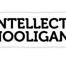 Intellectuals Sticker