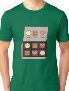 Belly, Hips, Thighs Unisex T-Shirt
