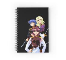 Black Rose Duelists (Kozue, Kanae, Shiori) Spiral Notebook