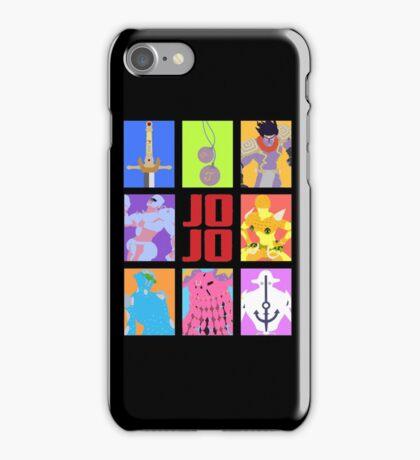 JoJo's Bizarre Adventure - Weapons & Stands iPhone Case/Skin