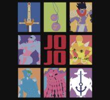 JoJo's Bizarre Adventure - Weapons & Stands Kids Clothes