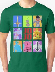 JoJo's Bizarre Adventure - Weapons & Stands Unisex T-Shirt