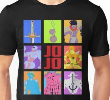 JoJo's Bizarre Adventure - Weapons & Stands Unisex T-Shirt
