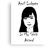 Spirit Animal Ludgate Canvas Print