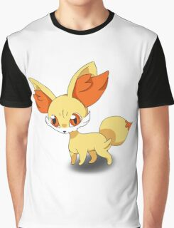 Fennekin Pokemon Graphic T-Shirt