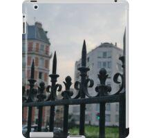 Pointy Fence in Paris iPad Case/Skin