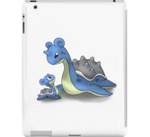 Lapras Pokemon Mother & Child iPad Case/Skin