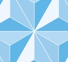 Spaceship Earth - Blue Sticker