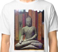 Bookshelf Buddha Classic T-Shirt
