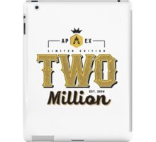 Faze Apex | Limited Edition | 2 Million Subscribers | White Background |  HIGH QUALITY iPad Case/Skin
