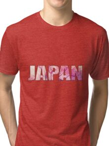 Cherry blossoms in japan Tri-blend T-Shirt