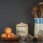 Kitchen Still Life - Taken by Will Baff by Clare Colins