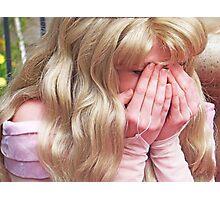 Princess Peek-a-Boo Photographic Print