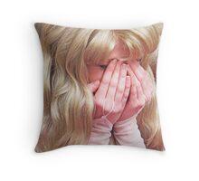 Princess Peek-a-Boo Throw Pillow