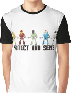 PROTECT AND SERVE Graphic T-Shirt