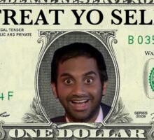 Treat Yo Self Cash Sticker