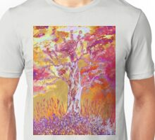 Sunset in the woods Unisex T-Shirt