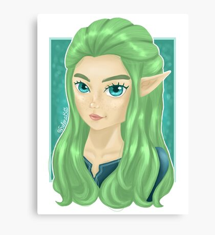 Miranna, The Forest Elf Canvas Print