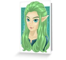 Miranna, The Forest Elf Greeting Card