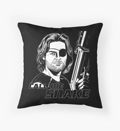 Call Me Snake Throw Pillow
