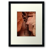 Liberty Bell of Antelope Canyon Framed Print