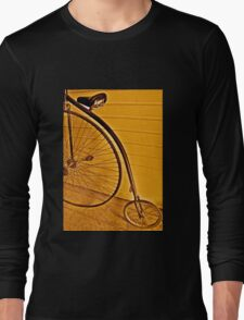 Penny - farthing Long Sleeve T-Shirt