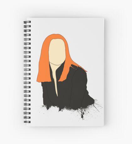 Widow Spiral Notebook
