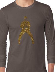gold elvis presley Long Sleeve T-Shirt