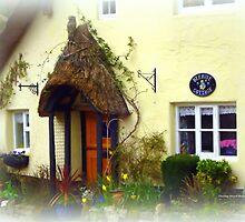 Cottage Entrance by Charmiene Maxwell-Batten