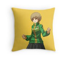 Chie (yellow) Throw Pillow