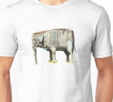 Cement elephant sculpture Unisex T-Shirt